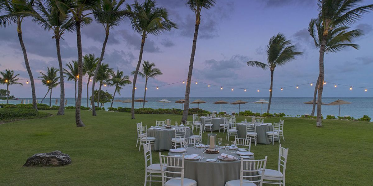 Ocean Front Event at Tortuga Bay Hotel